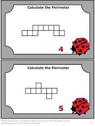 34 best math perimeter images on pinterest teaching ideas