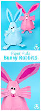 adorable paper plate rabbit craft kids craft room