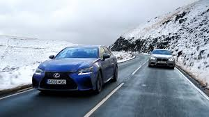 lexus is or bmw 3 lexus gs f vs bmw m5 chris harris drives top gear youtube