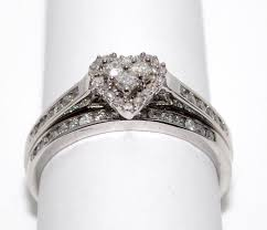 vintage wedding bands for wedding rings vintage bridal sets heart shaped diamond ring