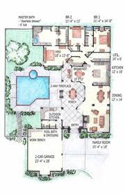 U Shaped House Plans With Pool In Middle Contemporary Double Storey House Plans House Designs