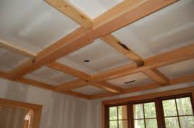 stunning coffered ceiling for charming ceiling ideas interior