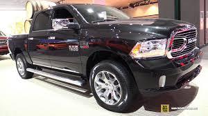 Ram 1500 Sport Interior 2017 Ram 1500 Limited Diesel Exterior And Interior Walkaround