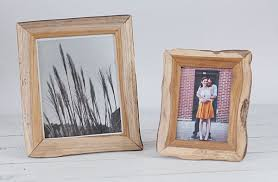 light wood picture frames redwood recycled picture frames an organic design by blue sky papers