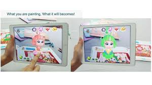 kid toys 4d picture books ar technology kids 4d painting books for