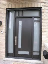 Home Entry Ideas Front Entry Door Modern Door Modern Fiberglass Door With 4 Door