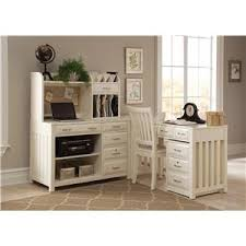 White Home Office Desks Liberty Furniture Hton Bay White Home Office Desk With Hutch
