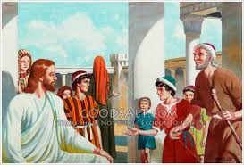 Jesus Healed The Blind Man Heals A Blind Man