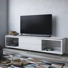 manhattan comfort lincoln white gloss storage entertainment center
