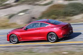 on the road review infiniti infiniti q60 red sport v bmw 440i comparison review