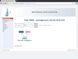 Ip Address Map Netmagis Screenshots