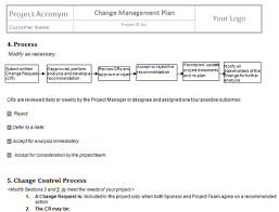 perform project integrated change control templates project