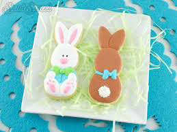 easter stick cookies semi sweet designs
