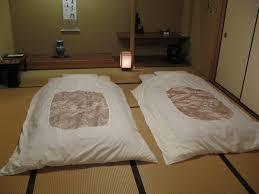 futon in japanese furniture shop