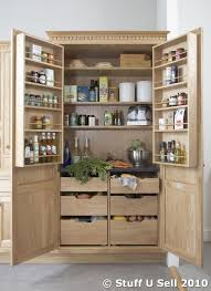 Oak Kitchen Pantry Storage Cabinet Kitchen Storage Units Nfc Oak Kitchen Larder Storage Cabinet