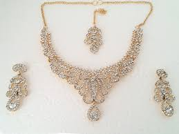 golden fashion necklace images Golden fashion jewellery set price in pakistan m008648 prices jpg
