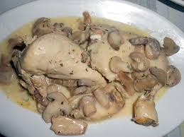 cuisiner le coquelet recette de coquelet en blanquette