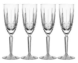 marquis by waterford sparkle flute set of 4 waterford