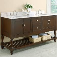 Traditional Bathroom Vanities Appealing Open Shelf Bathroom Vanity Traditional Bathroom Vanities