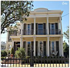New Orleans House Plans Garden District Double Gallery Homes In New Orleans Travel Usa