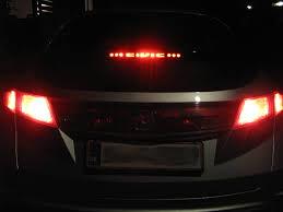 2008 honda civic third brake light type r 3rd brake light civinfo