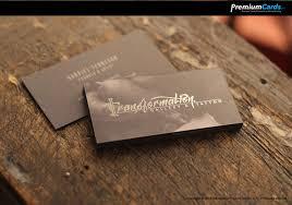 Business Cards With Foil Silk And Foil Business Cards 16pt Premiumcards Net Black Foil