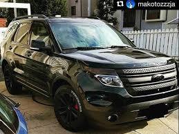 Ford Explorer Build - all black ford 2014 explorer sport drive in style pinterest