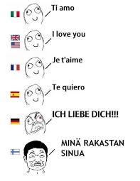 Finnish Language Meme - love lol funny haha life meme i love you fun finland language saying