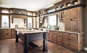 craftsman style kitchen cabinets light floors with