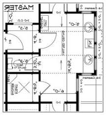 Luxury Master Bath Floor Plans Awesome Contemporary Master Bathroom Floor Plans No Tub On A