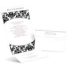 Damask Wedding Invitations Damask Wedding Invitations Ann U0027s Bridal Bargains