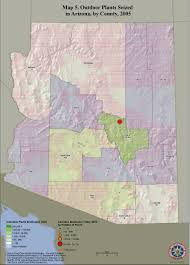 Maricopa County Zip Code Map by Appendix B Maps Domestic Cannabis Cultivation Assessment 2007