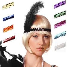 1920 hair accessories flapper hairstyles with headband find your hair style