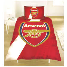 arsenal fc single and double duvet cover sets bedroom bedding ebay