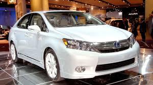 lexus hybrid sedan lexus recalls 18k examples of hs 250h for hybrid short circuit