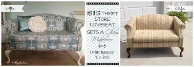 reupholstery 101 my thrift store loveseat redo part 2 tutorial