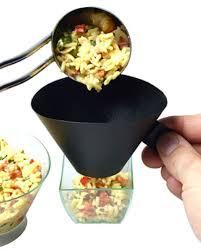 entonnoir cuisine entonnoir à verrine x 2 meilleurduchef com