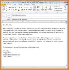 8 email resume template precis format