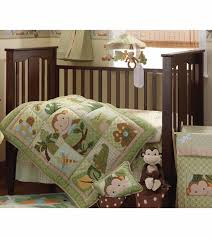 Monkey Crib Bedding Set by Lambs U0026 Ivy Papagayo 5 Piece Crib Bedding Set