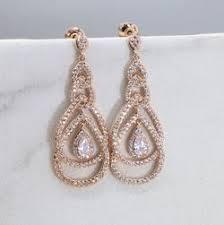 Rose Gold Chandelier Earrings Earrings U2013 Xyjewelry
