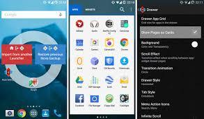 theme nova launcher android nova launcher 5 0 lollipop theme and white app drawer apk naldotech