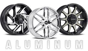 Wide Rims And Tires For Trucks Comparing Aluminum And Steel Wheels Les Schwab Tire Centers