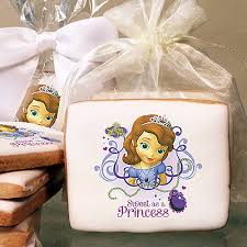 disney jr sofia 2 photo cookies u2013 freedom bakery