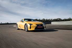 lexus yellow first drive 2018 lexus lc 500 and 500h automobile magazine