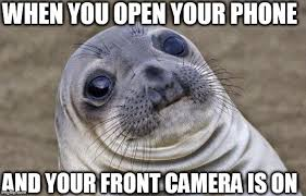 Meme Camera - awkward moment sealion meme imgflip