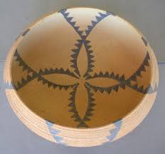 david salk ceramic bowl maidu basket designs ceramics paper