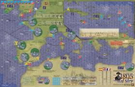 Europe Map Games by Gmt Games 1805 Sea Of Glory