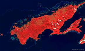 Fiji Islands Map Vanua Levu Fiji Islands Content Earth Online Esa