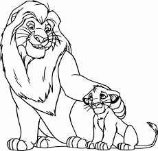 lion king simba coloring pages beautiful lion king coloring pages