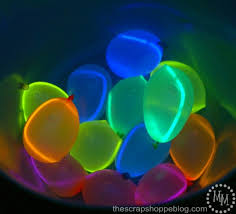 water balloons glow in the water balloons design dazzle